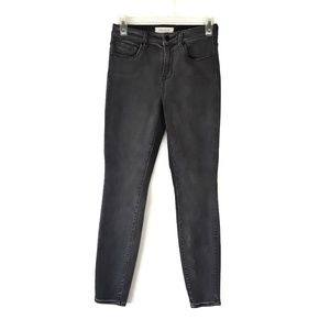 PACSUN High Rise Skinniest Gray Jeans